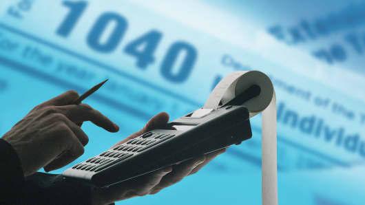 Taxes 1040 financial advisor