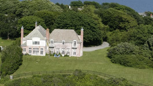 This Newport, Rhode Island, home was originally listed for $12.9 million. It sold in the fourth-quarter for $5 million.