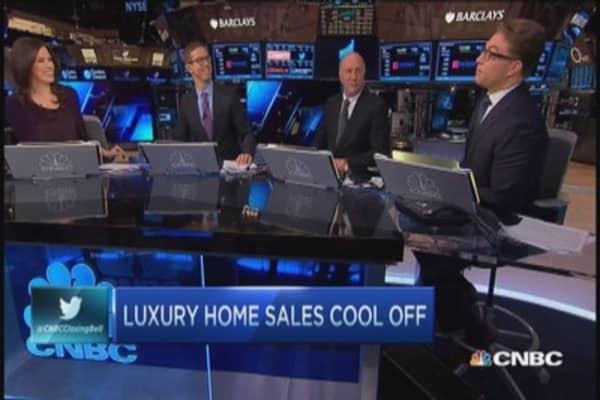 Luxury cool down ... sort of
