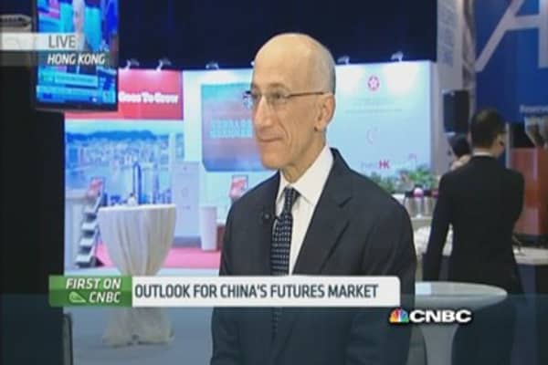 CFTC: Excited about China market reforms