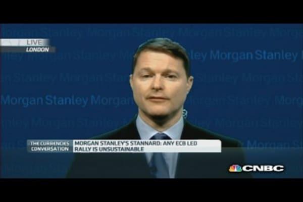 ECB QE to take the pressure off?