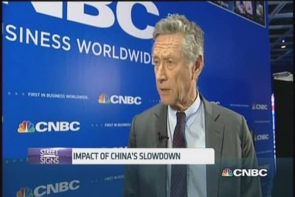 IMF: China slowdown won't have an 'enormous effect'