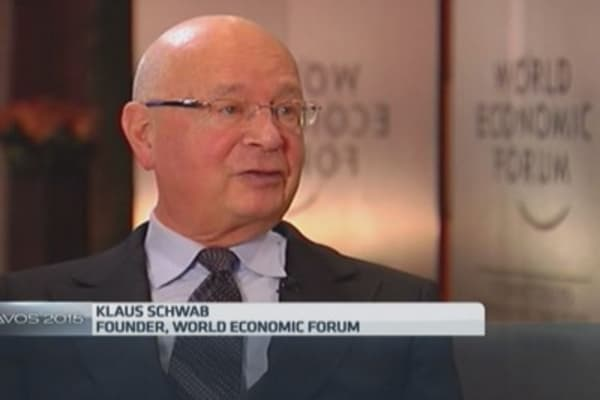 Still shocked by SNB move: WEF founder