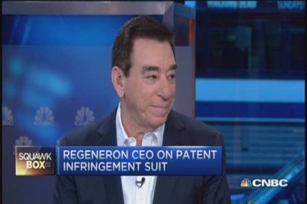 Regeneron CEO: Choice, not price best for patients