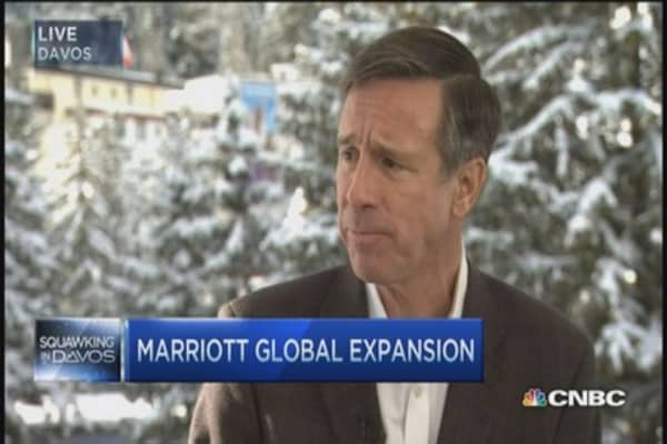 Marriott targets 1 millionth mark: CEO