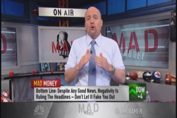Cramer: Don't let bad news bears fake you out