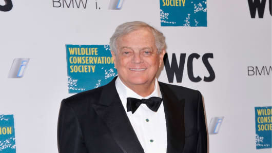 David Koch - American businessman, philanthropist, political activist, and chemical engineer.