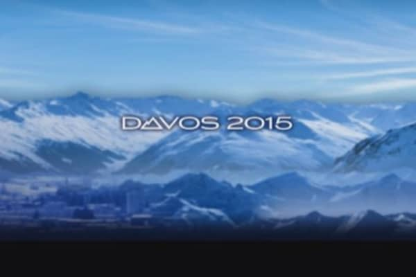 Central bank policy dominates Davos