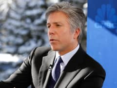 Bill McDermott, CEO of SAP at 2015 WEF in Davos, Switzerland.