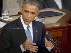 President Barack Obama delivering his 2015 State of the Union address