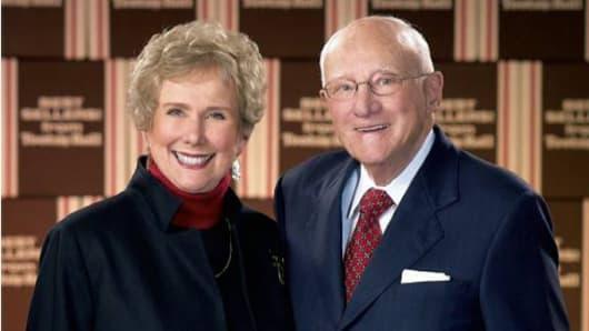 Melvin Gordon with wife Ellen Gordon.