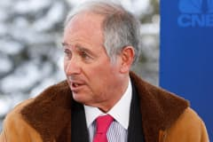 Steve Schwarzman, co-founder and CEO of Blackstone Group LP at the 2015 WEF in Davos, Switzerland.