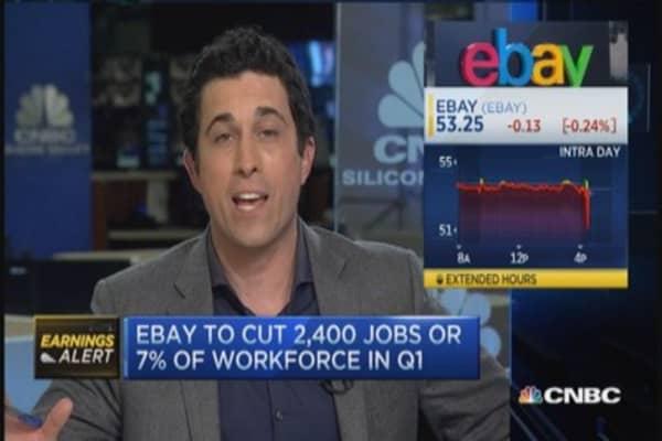 Ebay to slash 7% of workforce in Q1