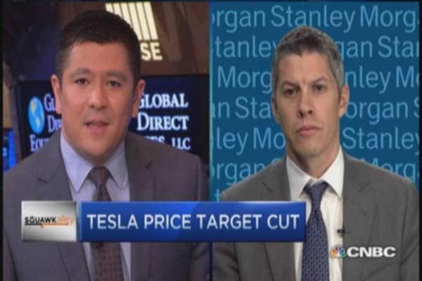 Tesla target cut, buy it now: JPM analyst