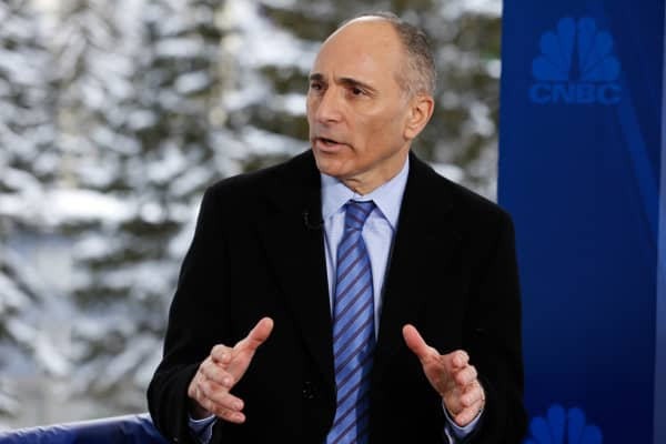 Joe Jimenez, CEO of Novartis, at 2015 WEF in Davos, Switzerland.