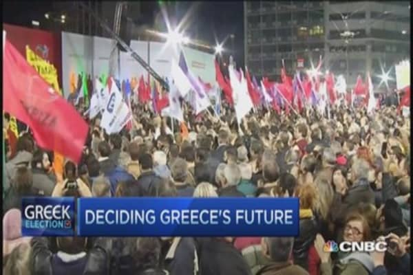 Radical leftist in Greece's future?