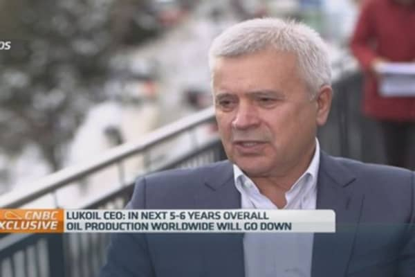 Lukoils big boss vagit alekperov, president of the board of lukoil