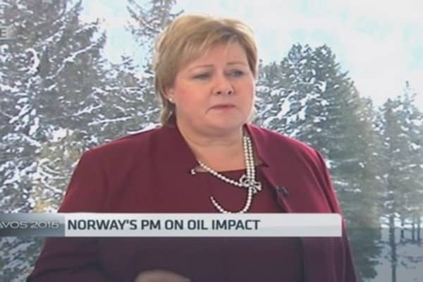 Norway PM: We can tolerate oil volatility
