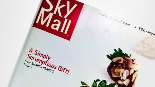 Skymall magazine