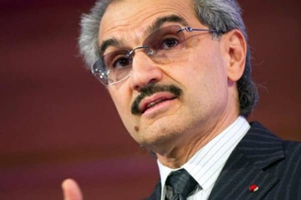Saudi Prince Alwaleed: Never see $100 oil again