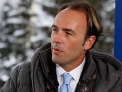 Kyle Bass at the 2015 WEF in Davos, Switzerland