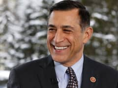 Rep. Darrell Issa (R-Calif) at the 2015 WEF in Davos, Switzerland.