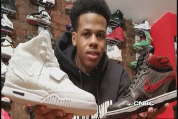 Teen sneaker phenom