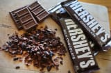 Hershey's chocolate bars.