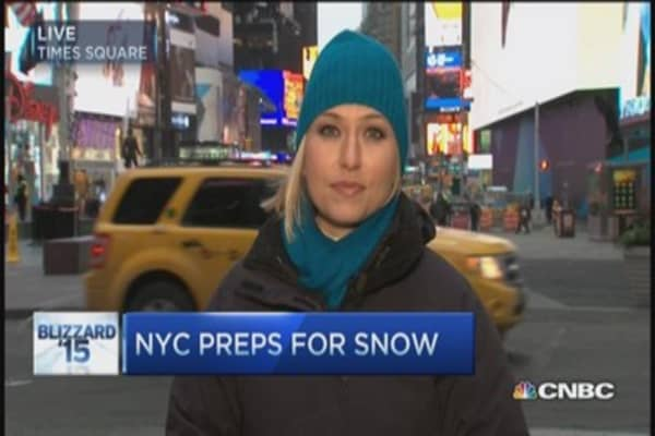NYC preps for major snowstorm