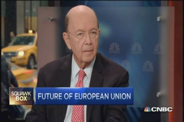 Wilbur Ross: Good signs from Greece