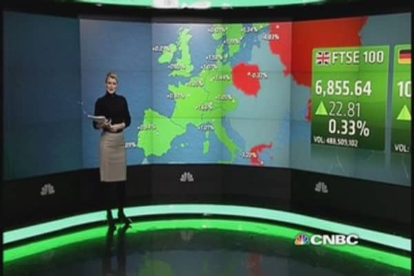 Europe markets shrug off Syriza win, end higher
