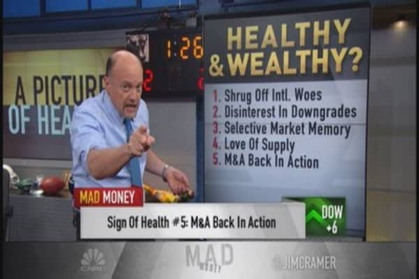 Cramer: Market healthy or sick?