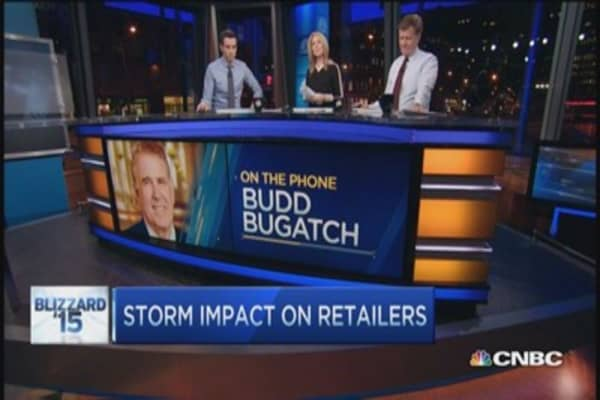 Retailers weathering the storm