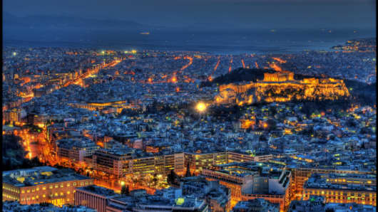 A view of Athens