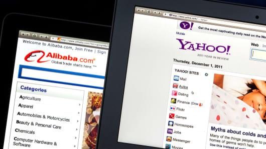 Alibaba and Yahoo