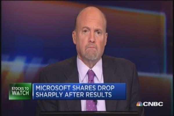 Cramer's stocks to watch: Earnings reset