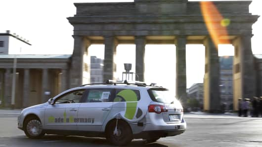 Germany to allow driverless cars on the autobahn.