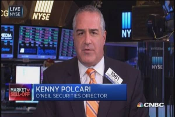 Earnings miss, market struggles: Polcari