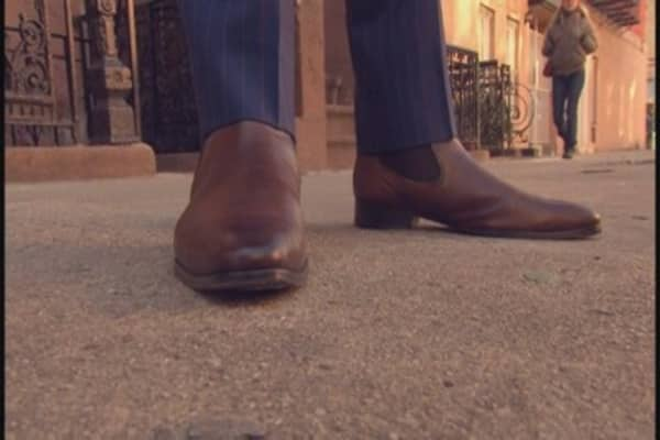 Startup thinks outside the (shoe)box with luxury menswear