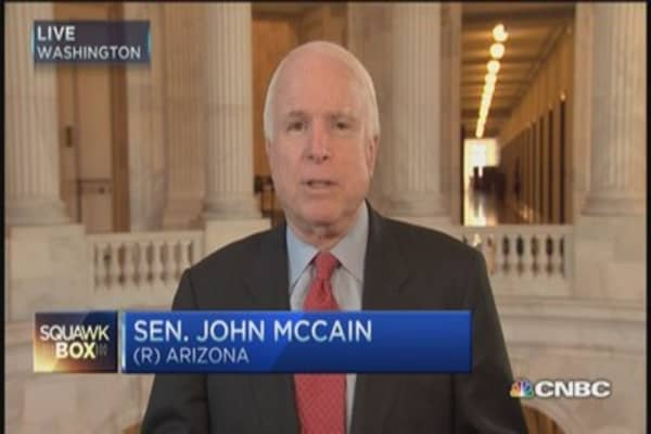 McCain blasts Michael Moore over 'Sniper'