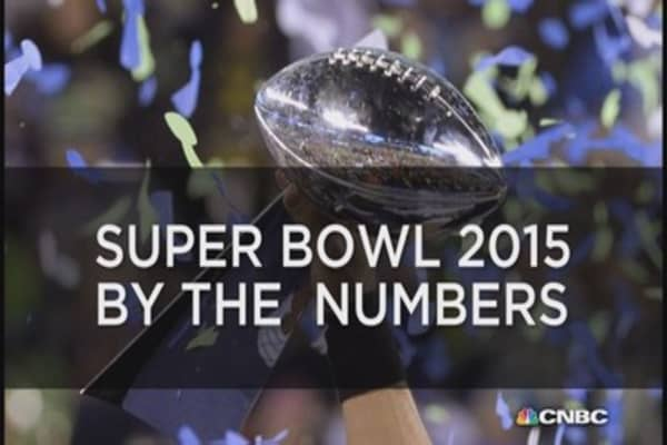 Super Bowl XLIX (49) by the numbers