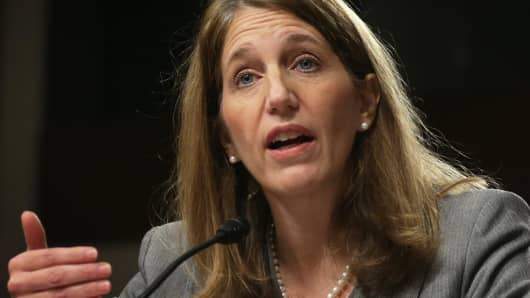 U.S. Secretary of Health and Human Services Sylvia Burwell