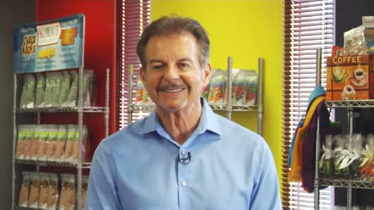 Joseph Dutra said sales are climbing at his Kimmie Candy Company in Reno, Nevada.