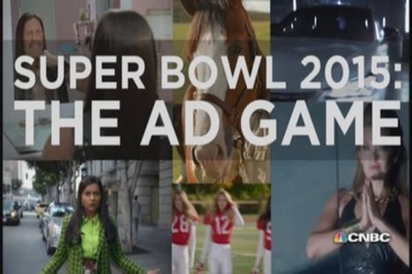 Super Bowl ad sampler