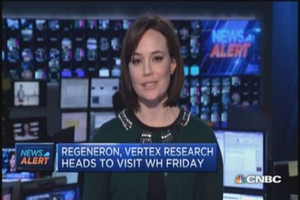 Regeneron, Vertex execs heads to White House