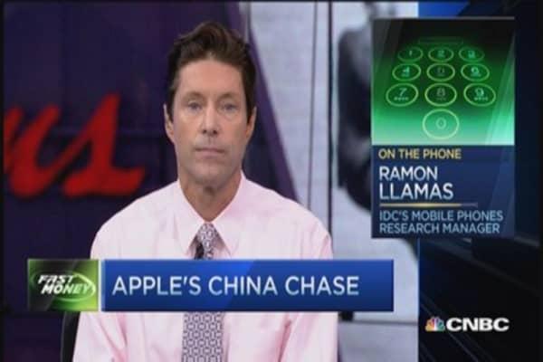 Apple's China land grab