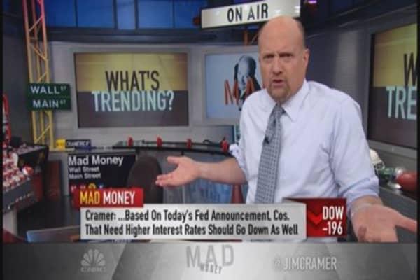 Cramer: Tough market struggling for footing