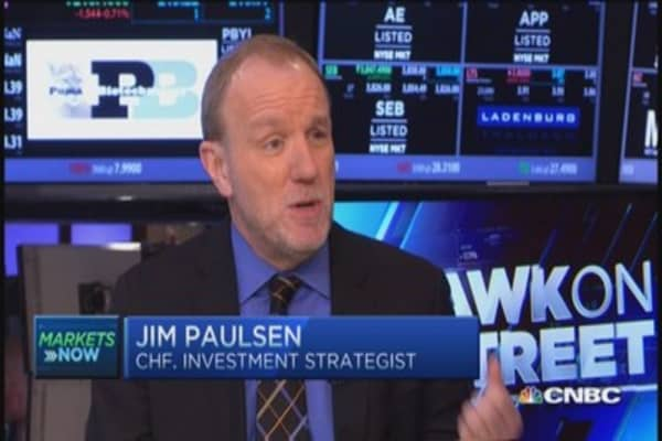 Oil bottom, dollar peak: Paulsen