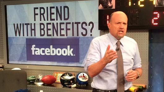 Jim Cramer talks Facebook on Mad Money.