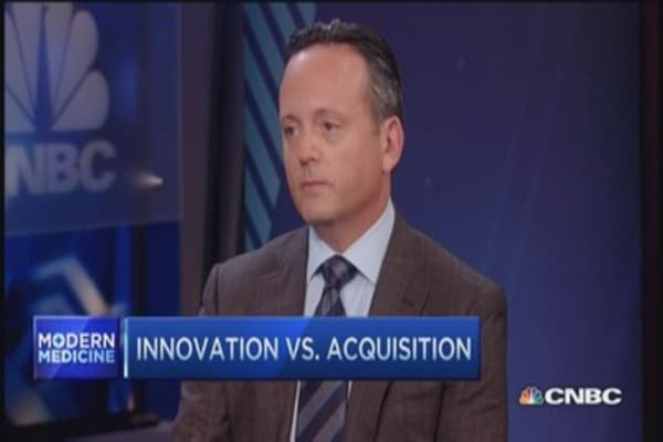 Activis CEO:  Innovation vs. acquisition